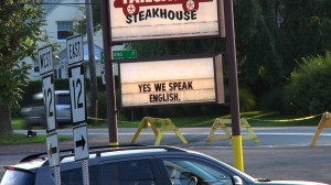 Yes We Speak English